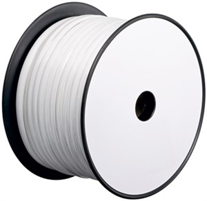 Telephone flat cables 100 m reel, AWG 30,CU (copper)