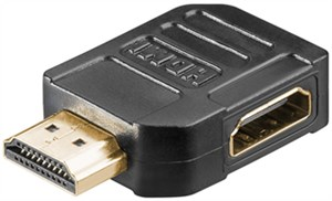 HDMI™ adapter, gold-plated