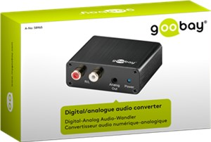 Digital/analogue audio converter
