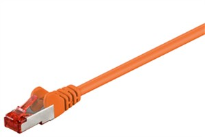 CAT 6 patch cable S/FTP (PiMF), orange