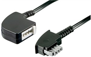 TAE-N extension cable 6 pin