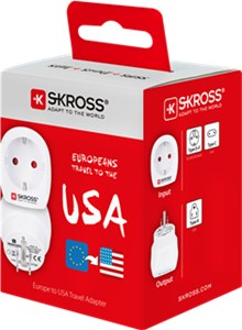 Country Adapter Europa to USA