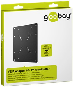 VESA adapter for TV wall mount