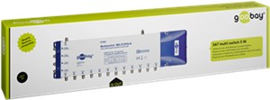 Satellite multiswitch 5 In / 16 Out