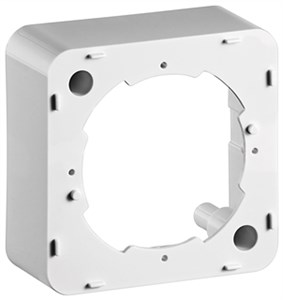 Surface frame for antenna wall sockets