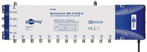 Satellite multiswitch 5 In / 12 Out