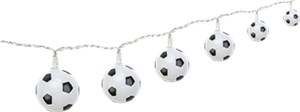 LED football string lights, with power plug