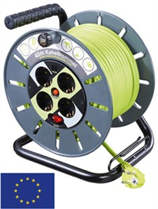 Case reel with cable routing 40 m