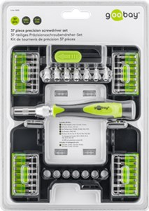 37-piece precision screwdriver set