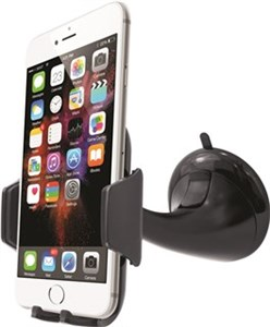 "Smartphone Car Holder ""Long Arm"" Suitable for smartphones with screen sizes of up to 6 inches"
