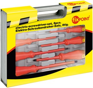 Electric screwdriver-set, 8 pcs.