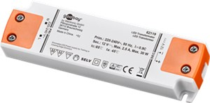 Constant Current LED Driver / 30 W