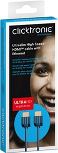 Ultraslim High Speed HDMI™ cable with Ethernet