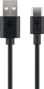 USB-C™ charging and sync cable (USB-A > USB-C™)