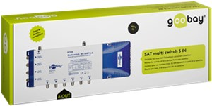 Satellite multiswitch 5 In / 6 Out